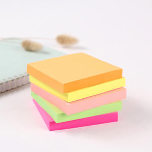 Groothandel Promotie Kleur Sticky Notes Vierkante Sticky Memo Pad