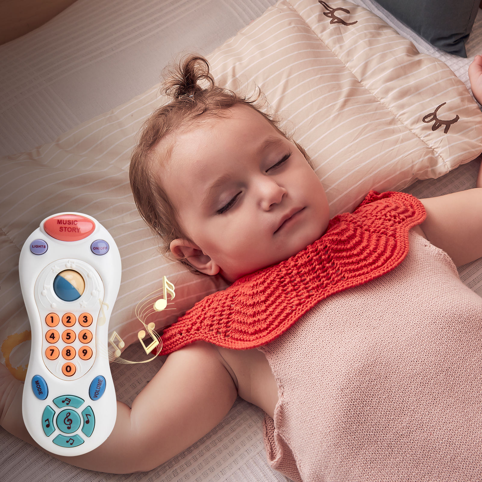 Baby Remote Control Learning Mobile Phone Toys For Kids