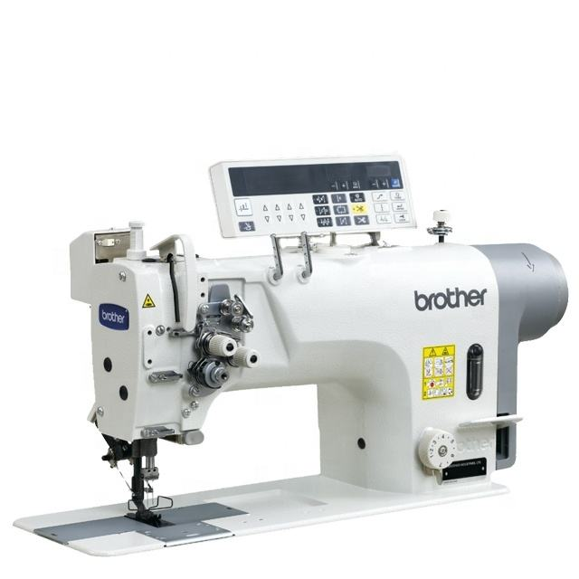 High Quality Brother 8722 Twin Needles Direct Drive Lock Stitcher Sewing Machines