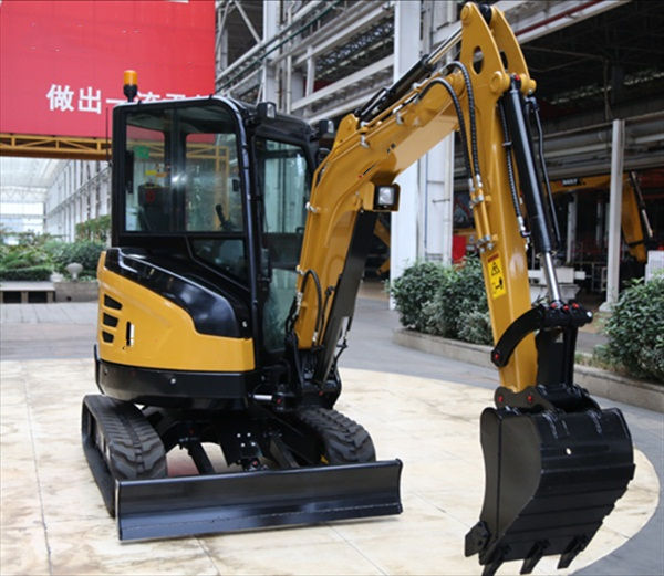 The Mini excavator 2.5T Portable Small Excavator for Sale