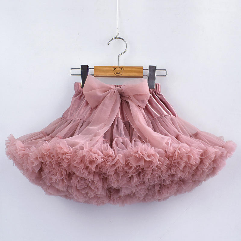 High Quality Baby Girls Tutu Skirt Fluffy Children Ballet Kids Princess Tulle Party Dance Skirts