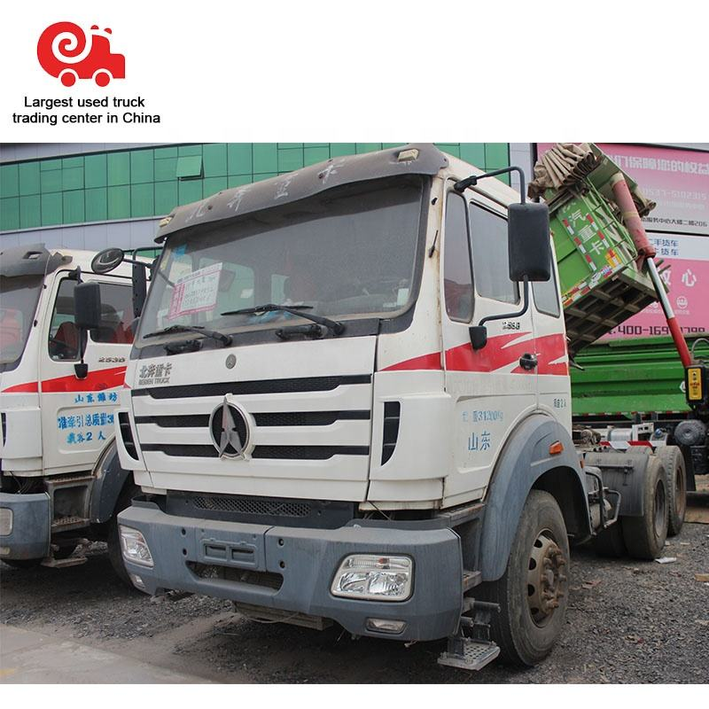 World reputation used Beiben trucks second hand truck dealers in China