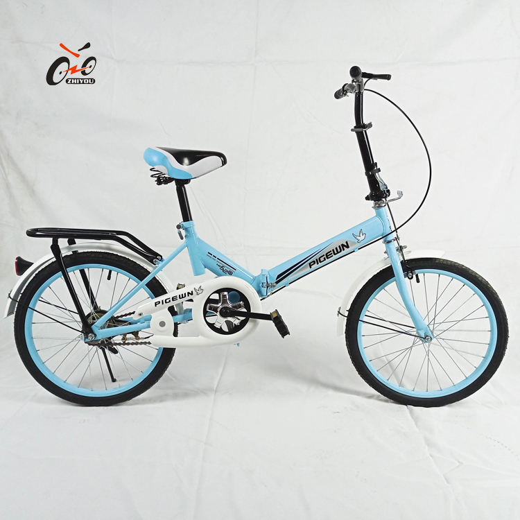 Adult 20' folding bicycle,Chinese yellow color folding bike ,folding bike with disc-Brake