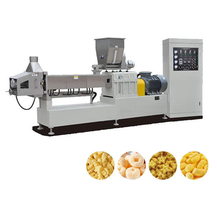 Crispy Puff Baby food Ball Snacks Extruder Machines Production Line