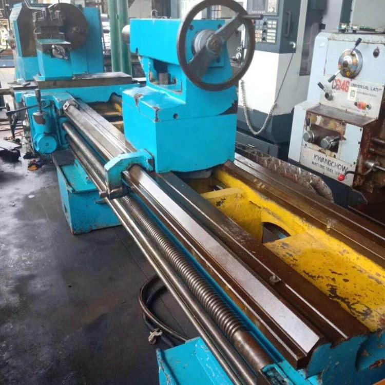 Secondhand CW62100B 3 Meter Used Lathe Machine With Gap-Bed Lathe