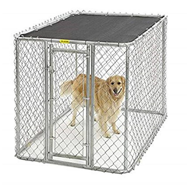 10x10x6 modular Chainlink perro kennel/<span class=keywords><strong>pluma</strong></span>