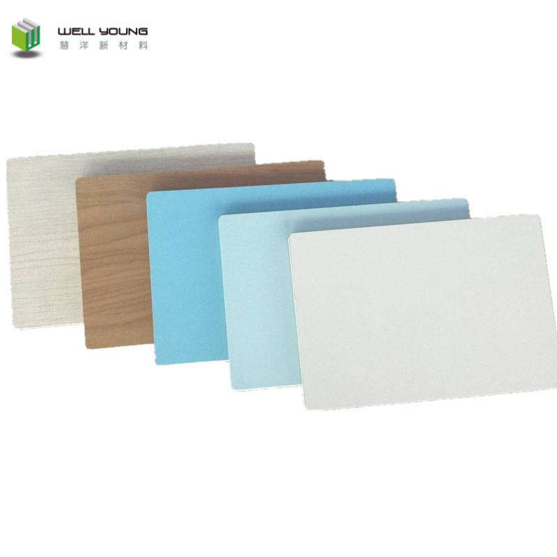 Fire rating A level melamine laminated wall panel board for operation room