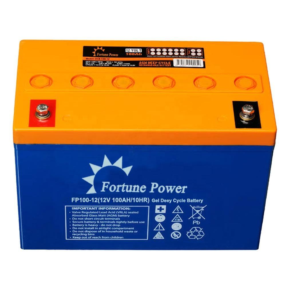 Top Sell 12V 100ah Used Telecom Batteries AGM Solar Battery