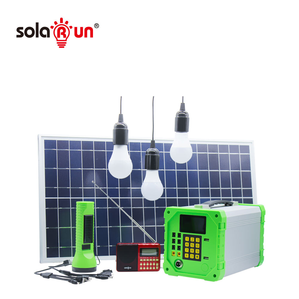 High Quality Home Solar Power System Offgrid LiFePO4 Control Unit for Home Lighting Phone Charging and Household Appliance