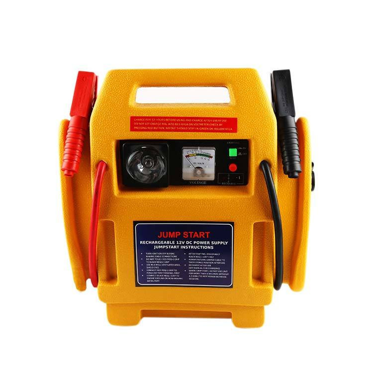 High Power safety 12V 17A Portable powerbank Car Battery Jump Starter with light