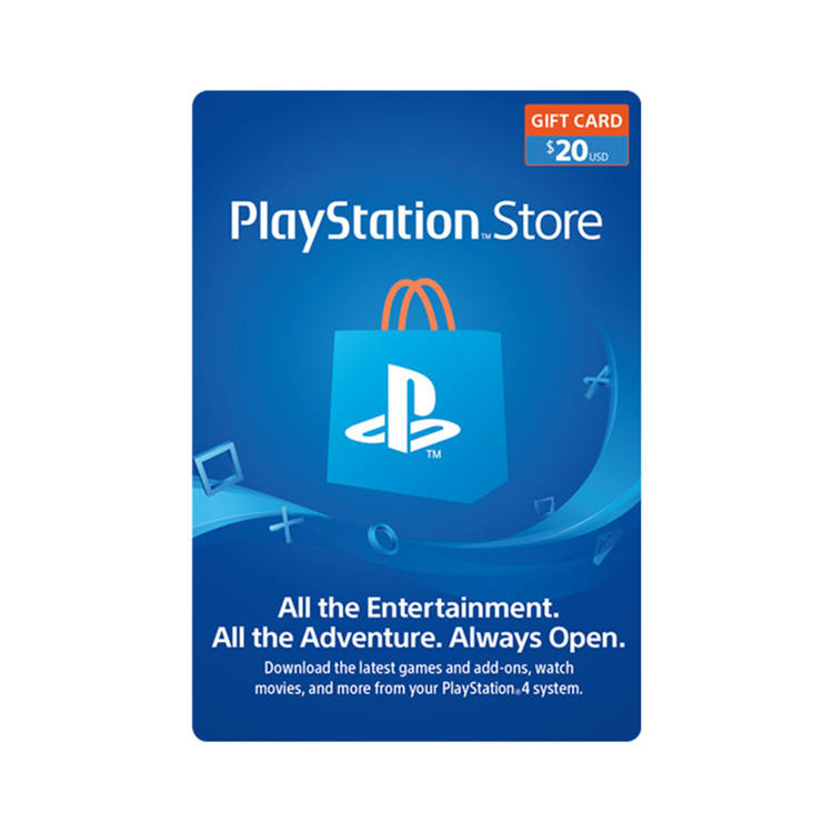 United States region $20 playstation / PSN gift card