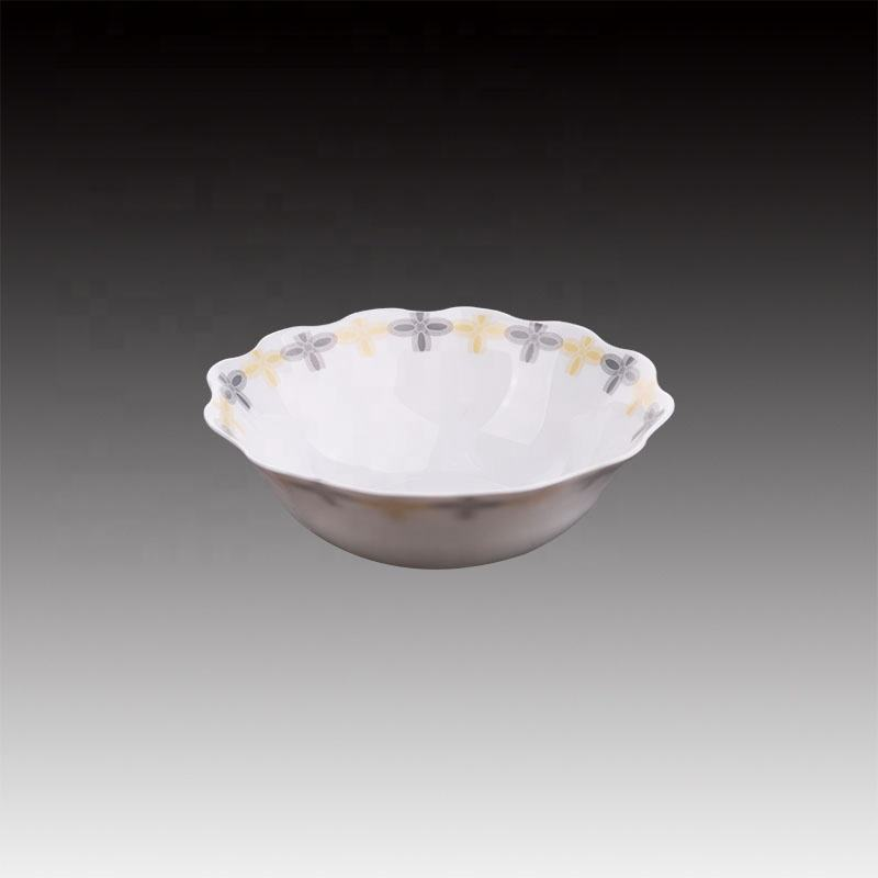 Eco-friendly Opal Glass 8 inch Soup Bowl Set Pudding Set