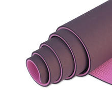 Factory Price Custom Print 6mm Thickness Eco Friendly TPE Yoga Mat