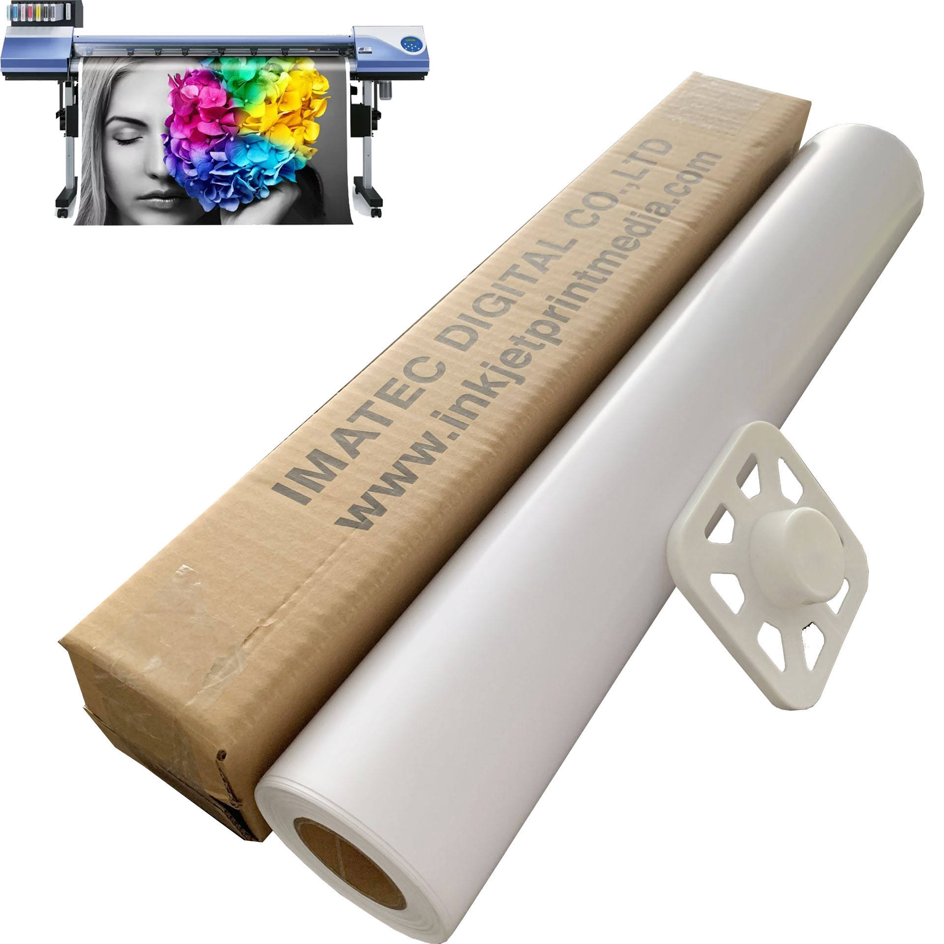 Inkjet RC high glossy photo paper roll for Canon/Epson/HP printing