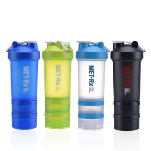 Individuelles logo tragbare tritan bpa frei fitness shaker flasche