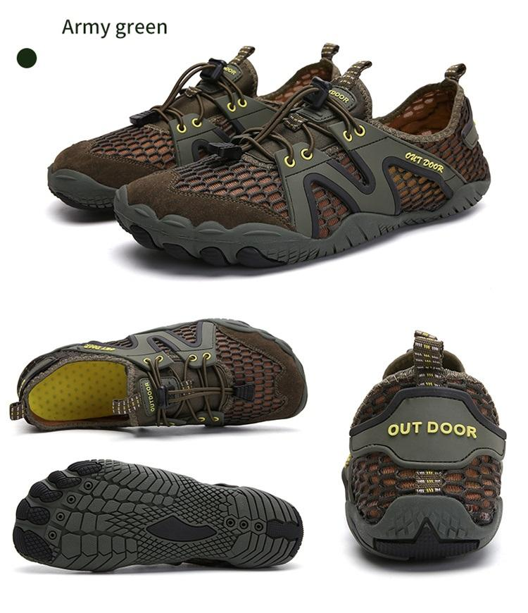 2020 New Arrival Rubber Breathable Mesh Beach Mountain Hiking Sport Road Trail Running Shoes