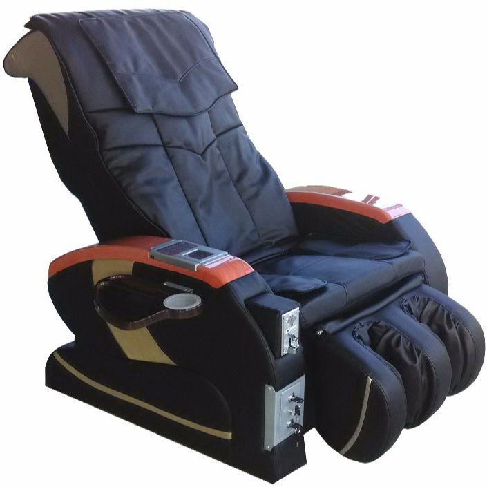 2020 GSM Credit Card Smart Commercial Coin Massage Chair/Shiatsu Credit Coin Operated Massage Chair