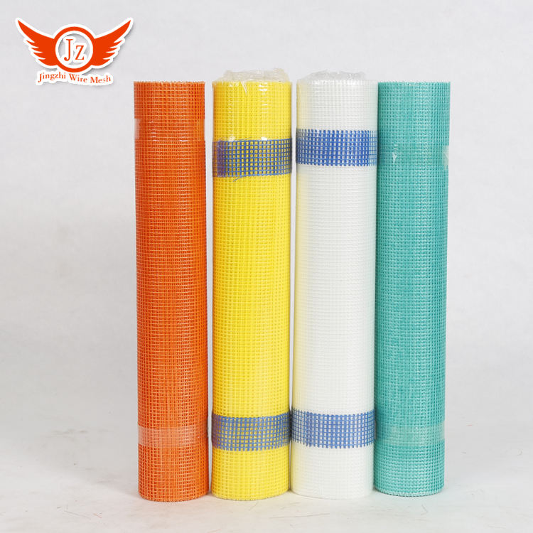 Hengshui Glass Fiber Fabric Fiberglass 2020 Mesh Net Yellow Green White Orange Blue Great Wall