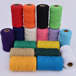 wholesale  2mm 3mm 4mm 5mm cotton macrame cord