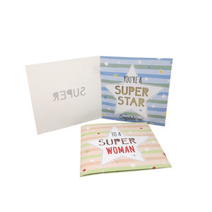 Custom High Quality 3d Greeting Card Recordable Sound Chip Wedding Invitations Birthday Cards