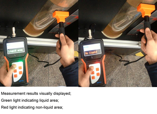 handheld marine use liquid level indicator fire fighting equipment