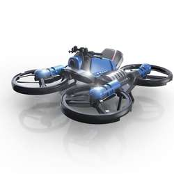 2020 RC 2 In 1 Motorcycle Drone Camera Remote Control Quadcopter 2.4GHz Foldable Deformed Racing Motorcycle Amazon Hot Sell