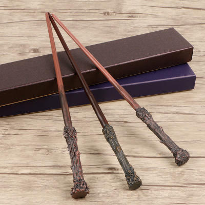 2020 metal core Harry Potter Magical Wands stick Cosplay Halloween Gift In Box