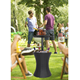 outdoor furniture picnic ice cooler box with table for garden and backyard