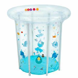 Gökkuşağı bebek şişme yuvarlak yüzme havuzu için 0-3 yaşında PVC şamandıra aksesuarları