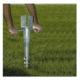 Galvanized Helical Ground Screw Pile Pole Anchor
