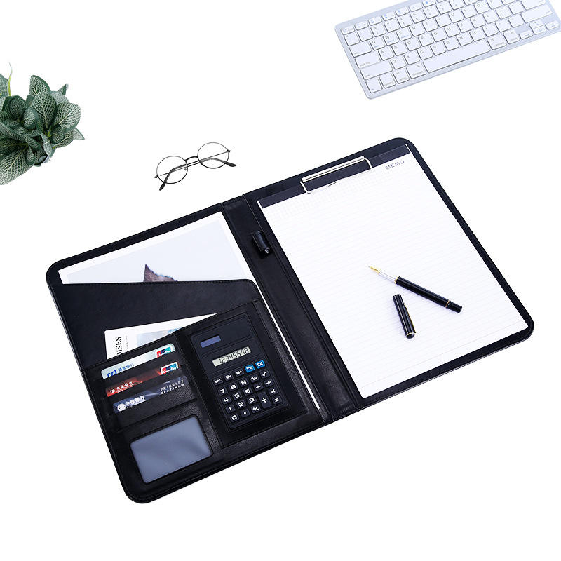 Wholesale high quality notebook with calculator for gift / office / school supplies