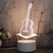 newest creative gift custom 3D illusion table lamp LED 3D night light Christmas promotion gifts