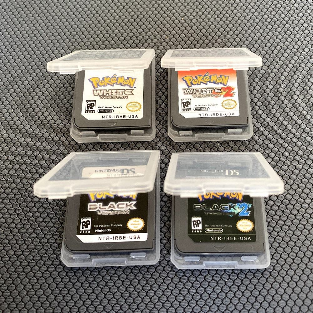 Retro video games china pokemon black white 1 2 for nds ds 3ds