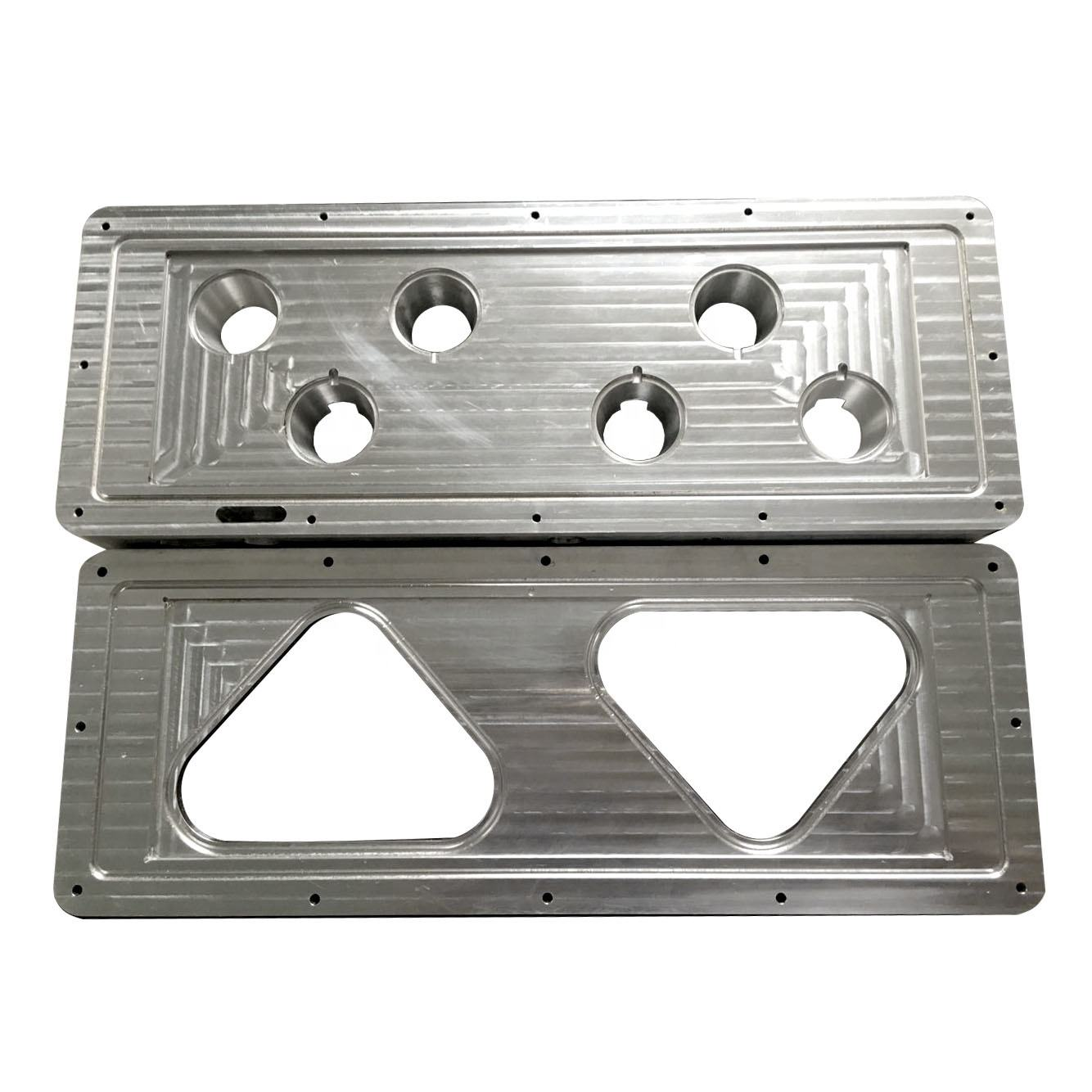 Custom Make CNC Milling Machine Parts Aluminium 6061 Heat Sinking Plate for LED Lights