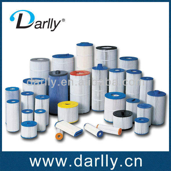 Darlly 20um swimming spa and pool pleated filter cartridge NSF
