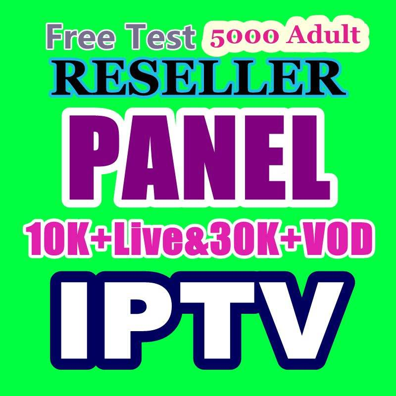 30K IPTV reseller panel high Android Server Stable europe arabic usa Belgium 4k hd Italy Spain set top box no app include
