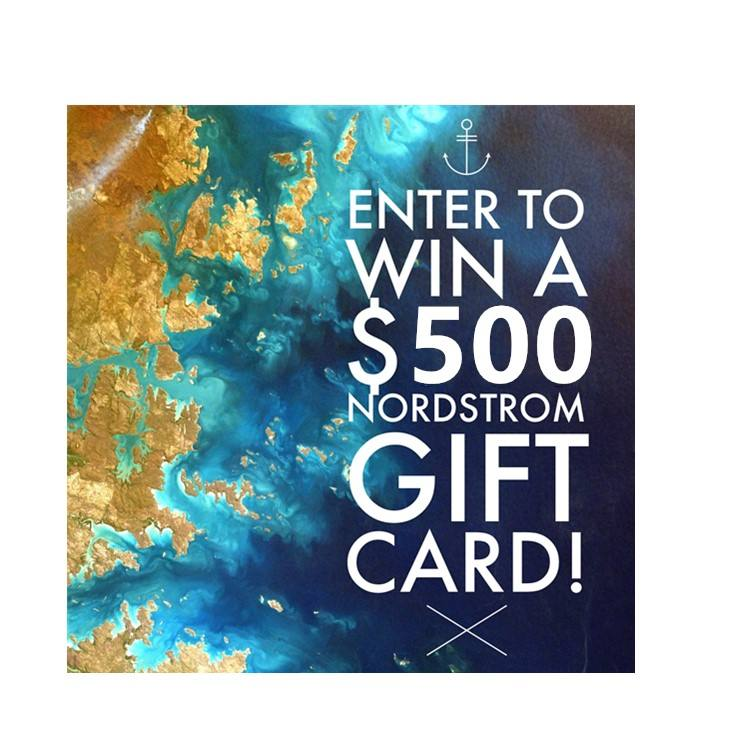 The United States $500 nordstrom gift card