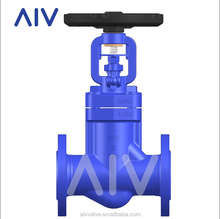MADE IN CHINA ANSI STANDARD RF END BELLOW SEAL GLOBE VALVE BLACK PAINT