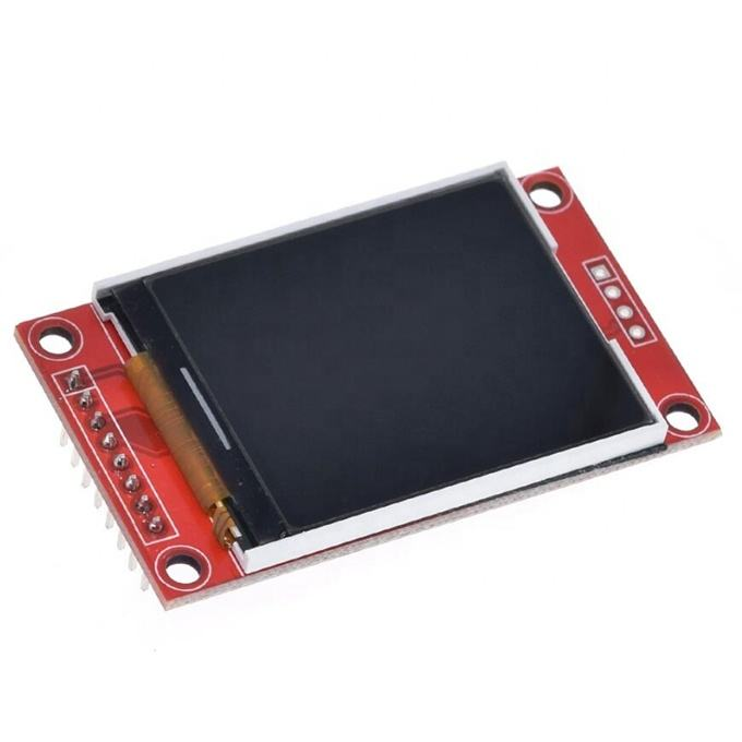 1.8 inch TFT LCD Module LCD Screen Module SPI serial 51 drivers 4 IO driver TFT Resolution 128*160