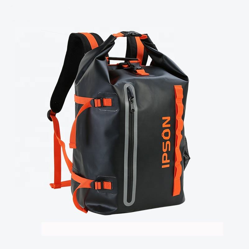 custom PVC backpack with logo Waterproof Bag Travel Backpack dry cycling bag