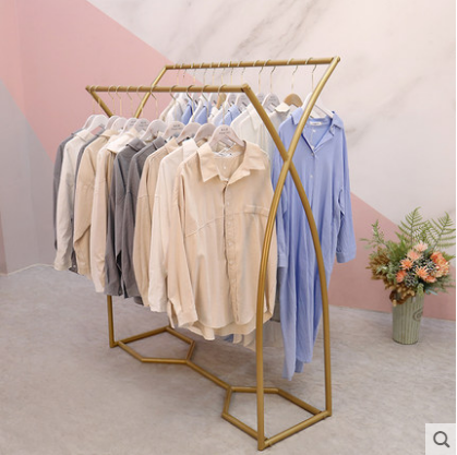 Cheap clothing store display rack hanger