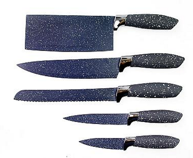 Five-piece Set [ Knife Set ] 5pcs Knife Set 5pcs Kitchen Knife Set