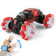 Watch control 360 crazy stunt transform rc toy rock climbing double side toys smart robot car