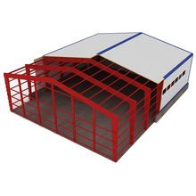 Prefabricated steel structure/warehouse/workshop/hall/hangar
