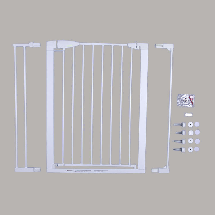 BeechWood Indoor Dog Pet Gate Barrier Safety Child Baby Kids Stair Gate Fence