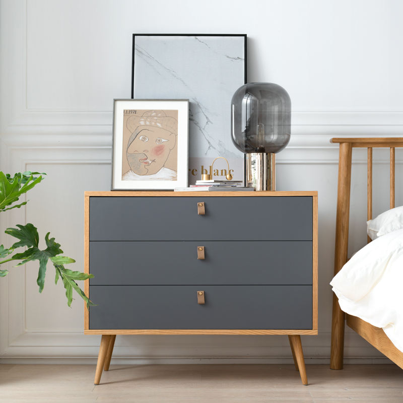 Factory supply modern wood bed sideboard for living room furniture