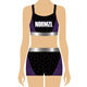 Custom different types school costumes for girls badminton sports wear