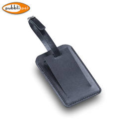 Leather Luggage Tag Holder