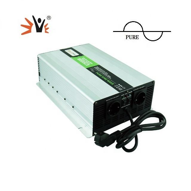 Motor Home <span class=keywords><strong>Gelombang</strong></span> Sinus Murni 700W Power Inverter Fase Tunggal Converter
