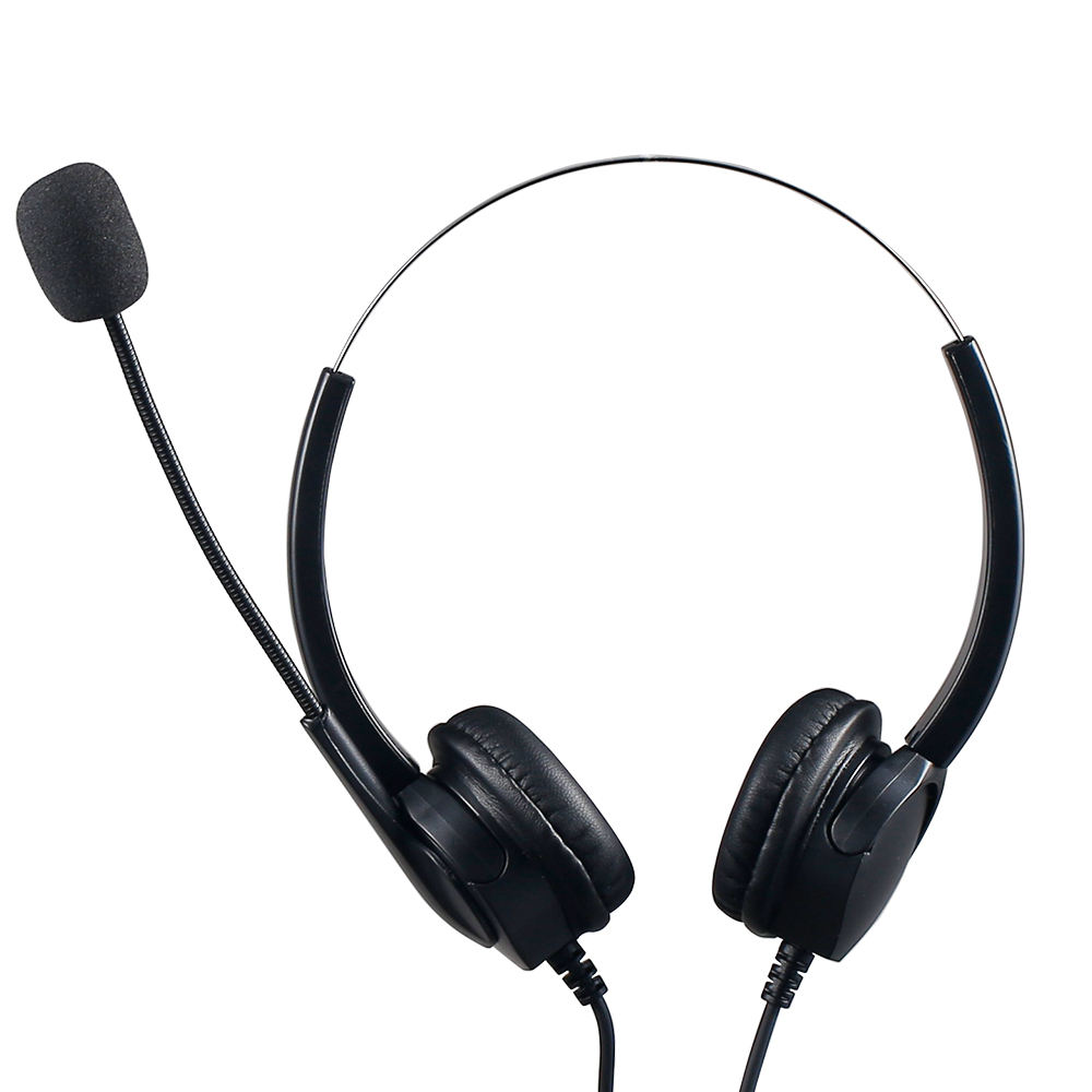 Headset untuk Operator Telepon Usb Mikrofon Headset Call Center Headset Korea